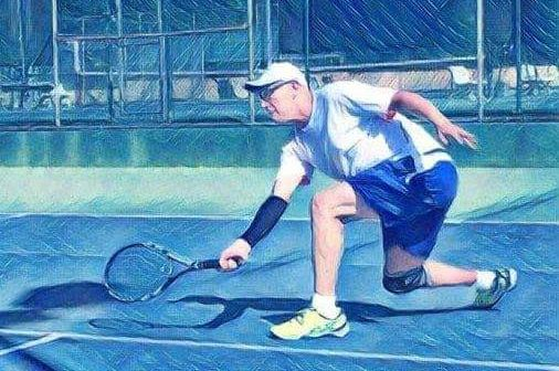 Todd Stanley Playing Tennis